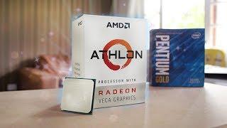 PC Gamer Barato com o Athlon 200GE (R$280) - Roda Jogos Pesados? Testes 2018