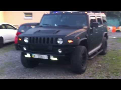 Hummer H2-Черный мат KPMF и Plasti Dip