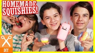DIY SQUISHY CHALLENGE & TUTORIAL! HOMEMADE SQUISHIES!  |  KITTIESMAMA