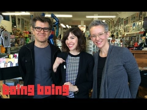 Portlandia s Carrie Brownstein chats with Xeni and Mark of Boing Boing