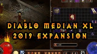 New Diablo 2 Expansion 2019 Median XL Σ Sigma! Download / Tutorial D2LOD MOD (New Skills Items)