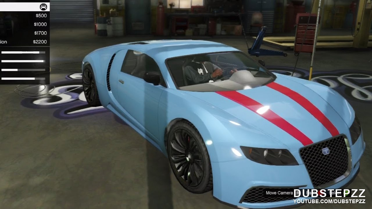 gta v 5 bugatti veyron customisation gameplay youtube. Black Bedroom Furniture Sets. Home Design Ideas