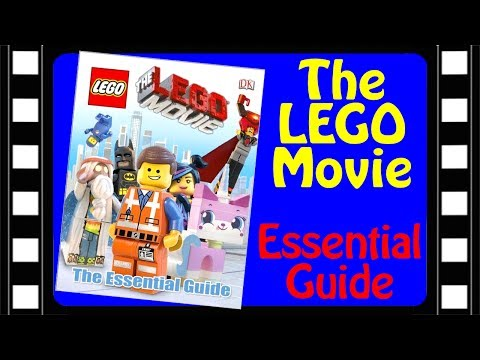 The LEGO Movie Essential Guide by DK Publishing Book Review