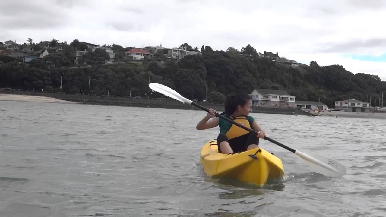 Kayaking in Auckland pt2 - YouTube