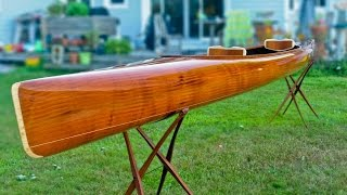 Building a Wooden Kayak - Making the microBootlegger