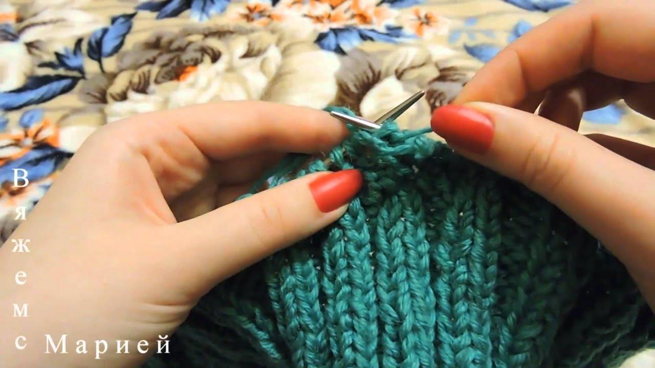 Вязание носков на 2-х спицах (мастер-класс) Вязание