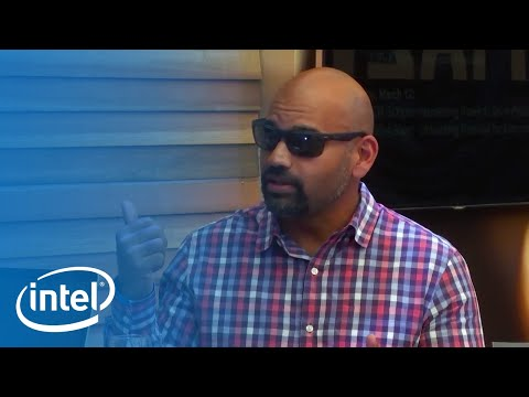 Intel AI Lounge – Naveen Rao of Intel at SXSW | Intel Business
