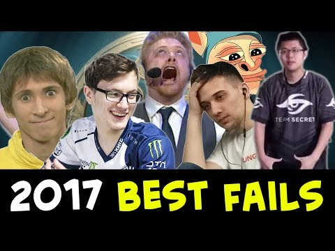 2017 biggest FAIL and FUN plays — Dota 2