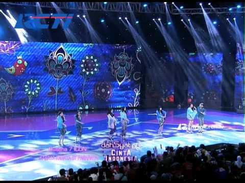 #dahSyatAwards2014 - Kolaborasi Boy & Girls Band Nyanyikan Lagu Daerah Indonesia