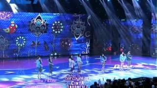 Download Lagu #dahSyatAwards2014 - Kolaborasi Boy & Girls Band Nyanyikan Lagu Daerah Indonesia Gratis STAFABAND