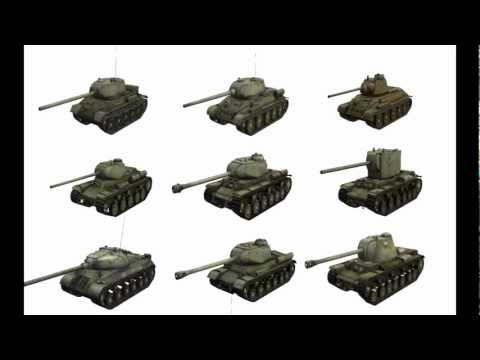 WoT Tips - Weakspot Video - USSR Tanks
