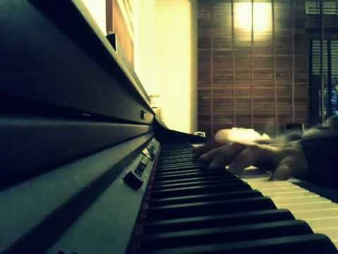 DM cover piano roland Somebody, depeche mode