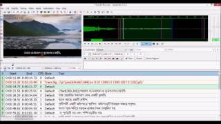Subtitling Surah Noor using Aegisub 3  Styling the Subtitles