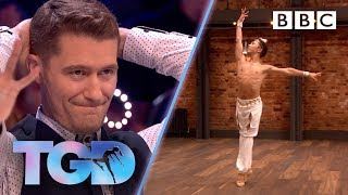 Frustrated dance captains beg audience to vote for ballet dancer - The Greatest Dancer | Auditions