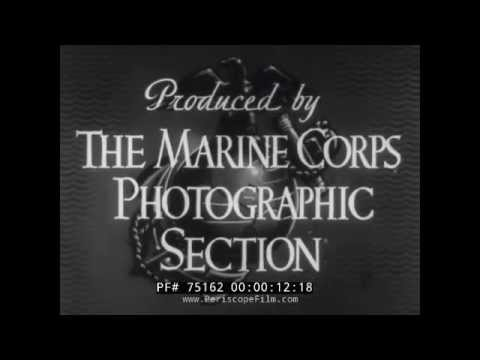 USMC MARINE CORPS WWII NEWSREEL PASS IN REVIEW ICELAND 75162