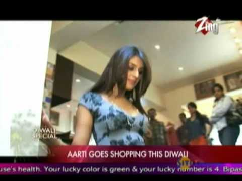 Aarti Chhabria exclusive shopping