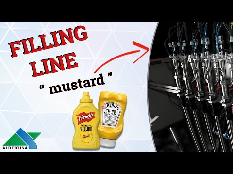 Albertina - Filling machine for mustard