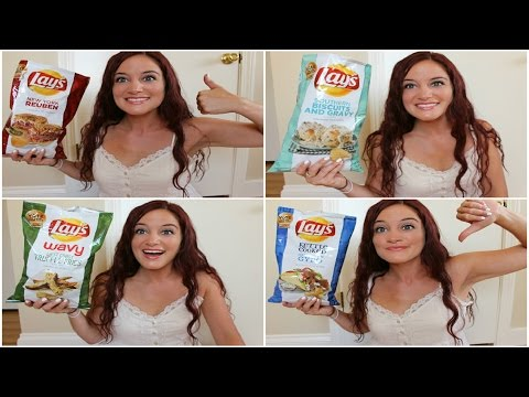 LAYS DO US A FLAVOR TASTE TEST REVIEW   2015