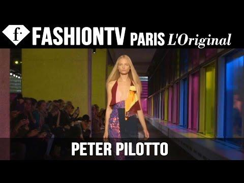Peter Pilotto Spring/Summer 2015 | London Fashion Week LFW | FashionTV