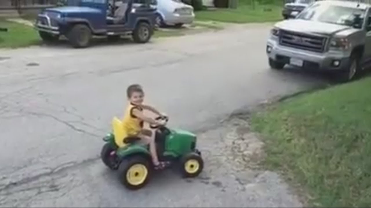 Whoa! This Young Kid Just Became A Driving Legend