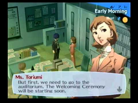 Lets play Persona 3- Part 2...getting there...