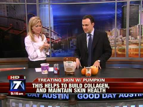 Treating Skin With Pumpkin - Dr. Ted Lain Austin Dermatologist on My Fox Austin