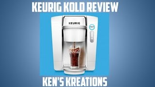 KEURIG KOLD Unboxing, Review & Taste Test