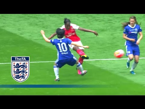 Carter's Spectacular - Arsenal Ladies 1-0 Chelsea Ladies (2016 FA Cup Final) | Goals & Highlights