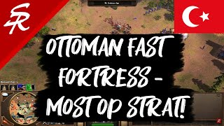 Ottoman Fast Fortress - the Most OP Strategy! | Age of Empires III