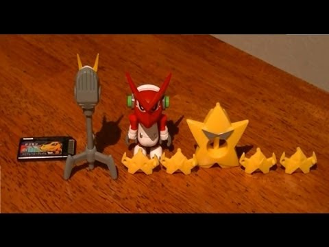Digimon Xros Figure Series 01 Shoutmon & Starmons Set Review video