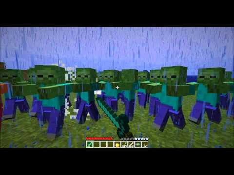 Epic minecraft battle