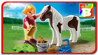 Playmobil Special plus 5291. Fetita cu poney animale domestice unboxing si review. Bogdan`s Show