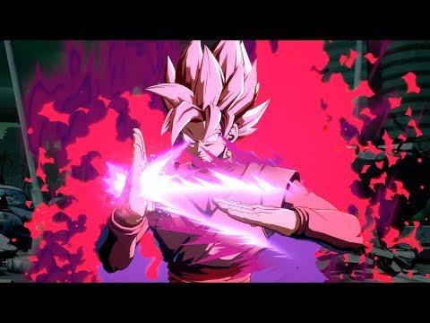 DIVINE SCYTHE! OFFICIAL Super Saiyan Rose Goku Black Gameplay Trailer! | Dragon Ball FighterZ