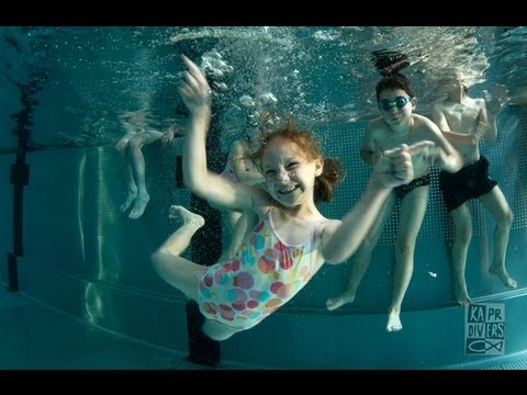 Swimming For Kids With Kapr Divers video
