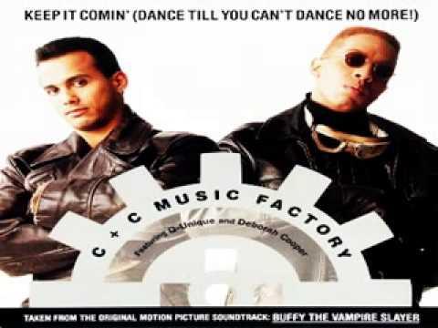 C & C Music Factory feat Q-Unique & D.Cooper - Keep It Comin [C & C House Anthem]