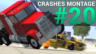 BeamNG.Drive EPIC Crashes Montage #20