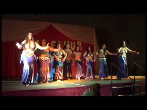 Danzas Arabes AL GANUB Rio Gallegos 2014 -Solo derbake -Muestra Anual AL GANUB 2014