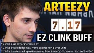 Arteezy CLink Dota 7.17 - EZ Buff for Him