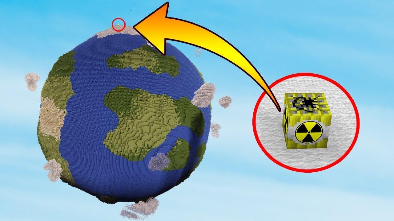 NUKE VS EARTH   Minecraft