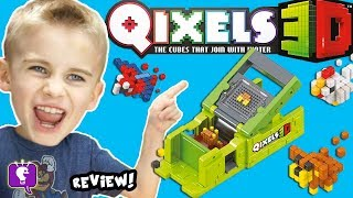 QIXELS 3D MAKER! Toy Review with HobbyFrog with HobbyKidsTV