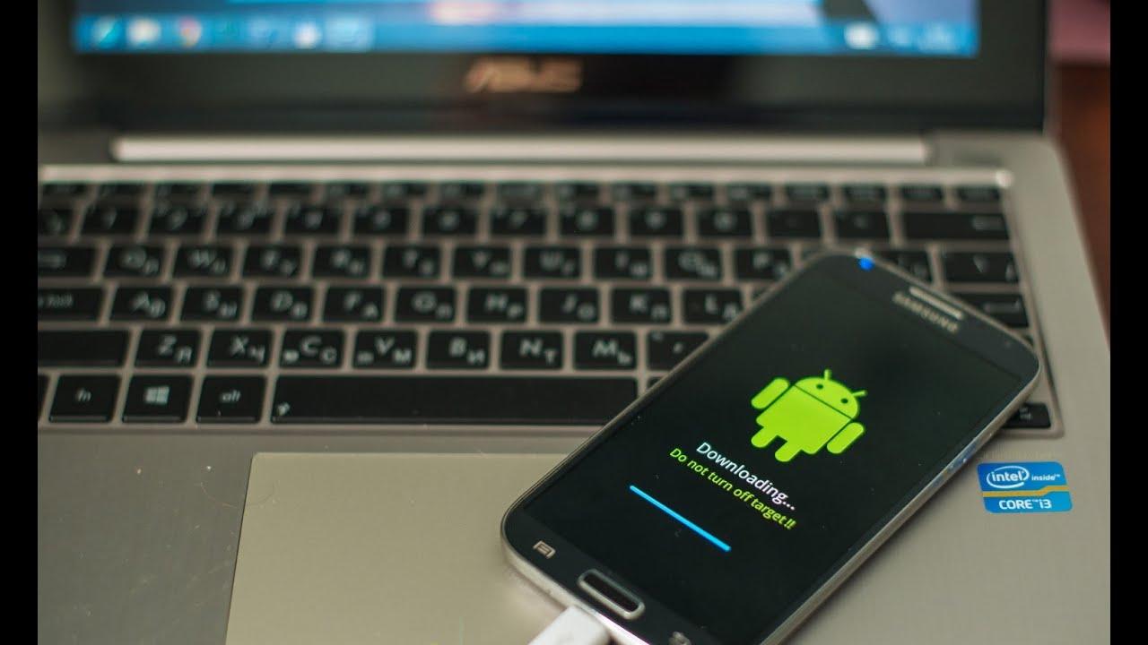 Как перепрошить телефон Android самостоятельно через компьютер 30