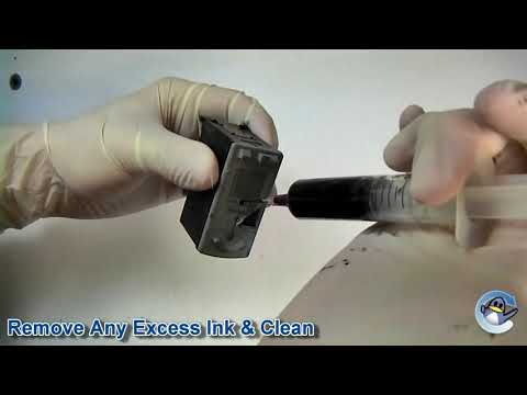 How to Refill Canon PG-40 & PG-50 Black Ink Cartridge