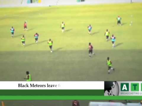 Black Meteors leave for Nigeria tomorrow