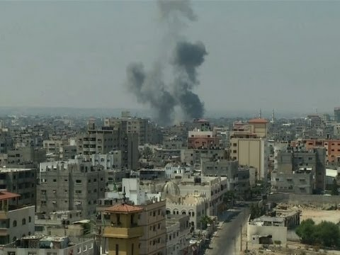 Raw: Airstrike Shatters Fragile Calm in Gaza