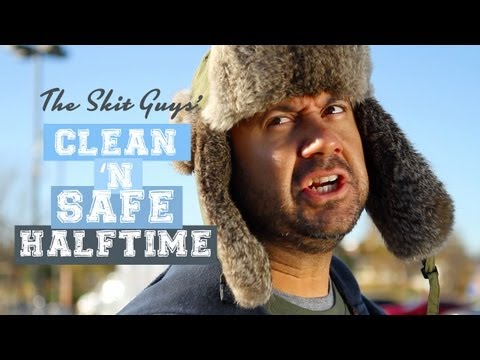 Skit Guys - The Clean 'N Safe Halftime