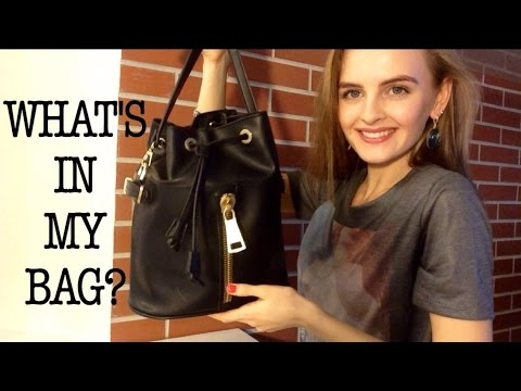 TAG: Что в моей сумке зимой? WHAT'S IN MY BAG?