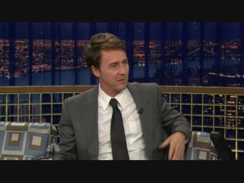 Edward Norton interview 18 Oct 2008 COB