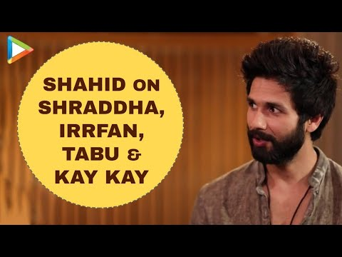 Shahid Kapoor Exclusive Interview on Haider | PK Part 5