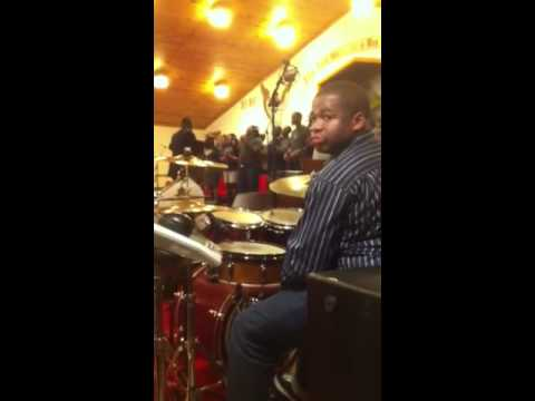 Clemons Poindexter on drums