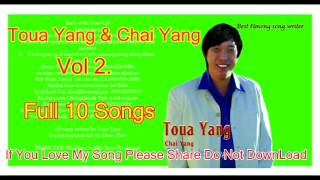 Hmong Song - Toua Yang & Chai Yang Vol 2 Full 10 songs